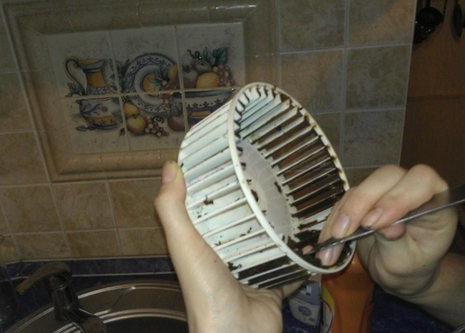 Чистка вентилятора