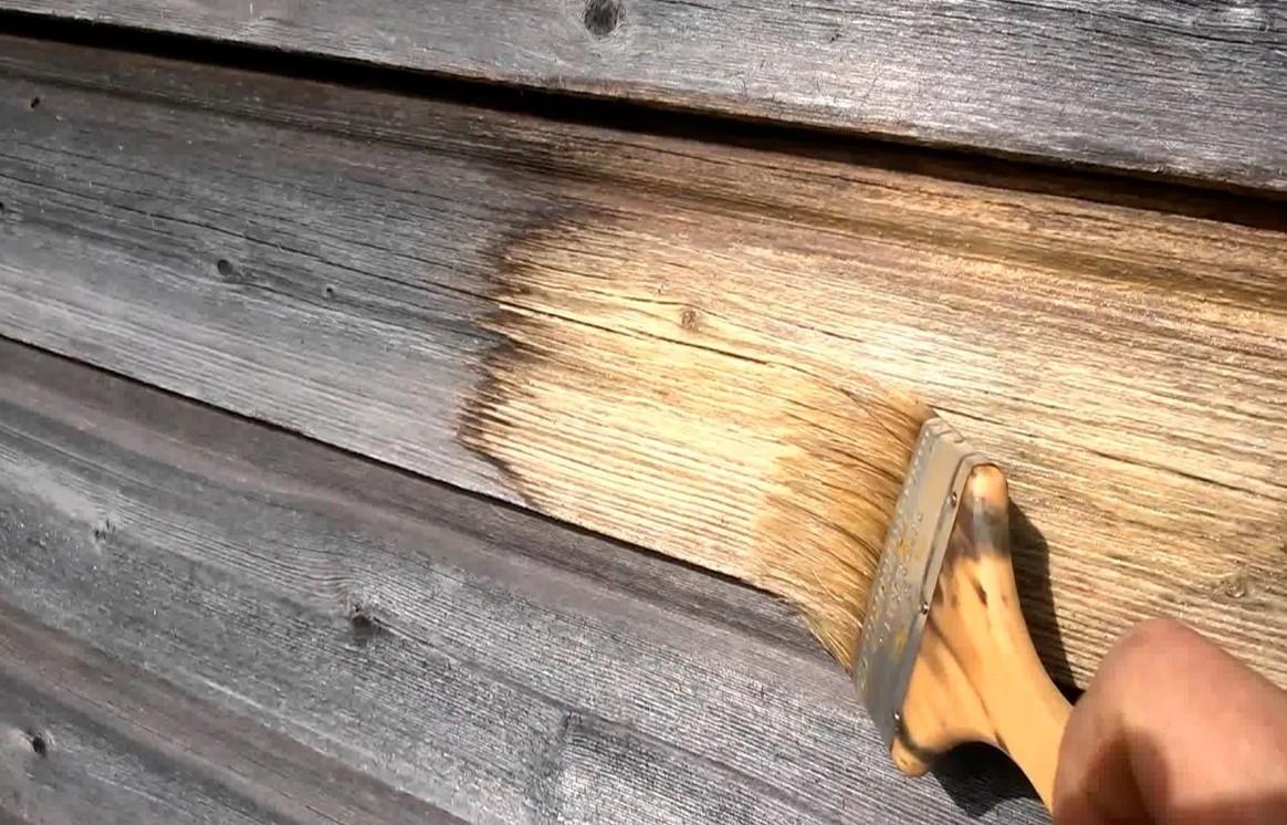 Обработка дерева пропиткой от грибка и плесени