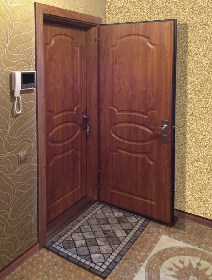 Утепления двери