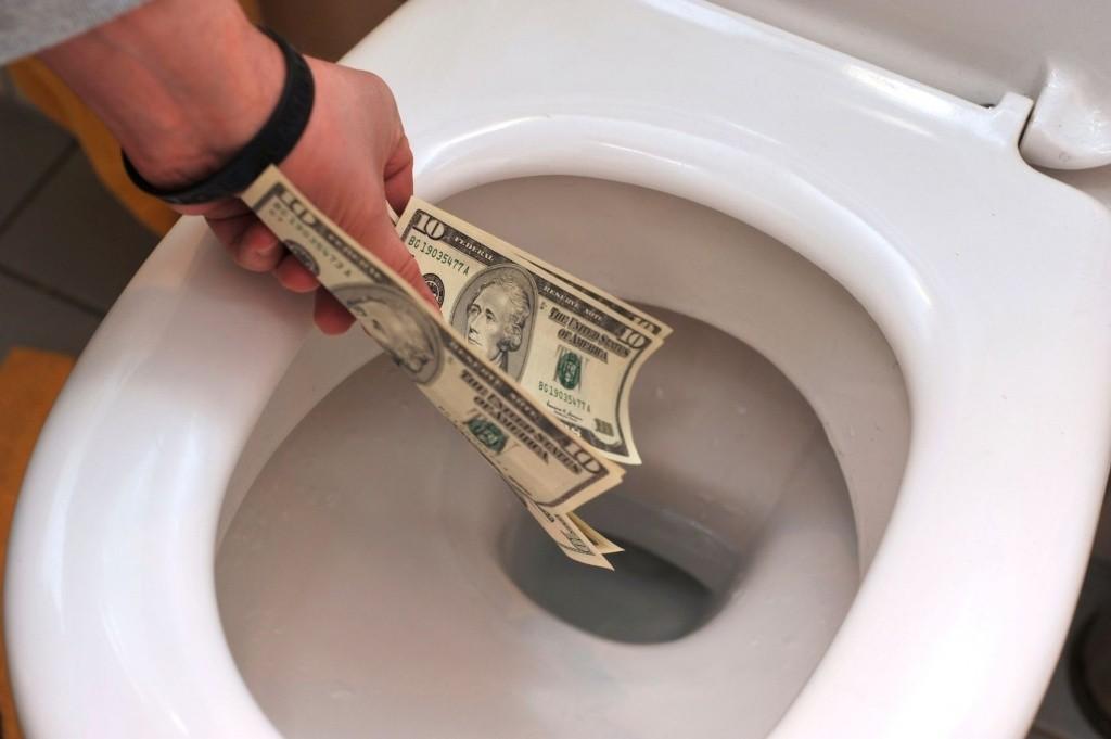 Смывание денег