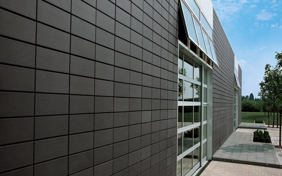 Керамическая фасадная плитка