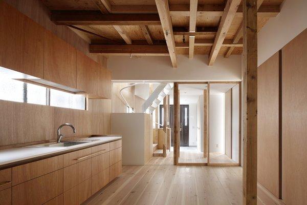 Потолок – имитация дерева